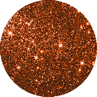 Burnt Orange Glitter