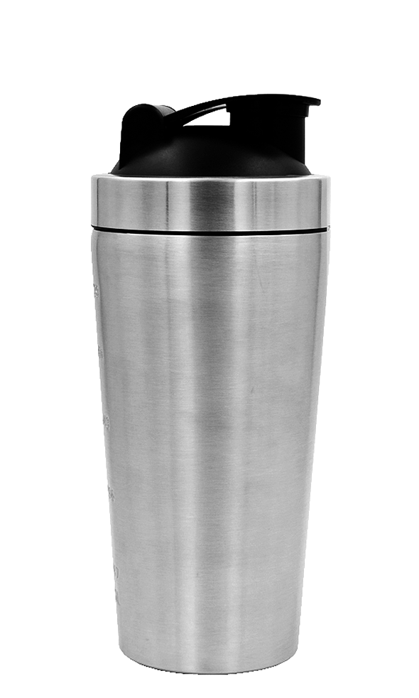 Shaker Bottle Black Lid