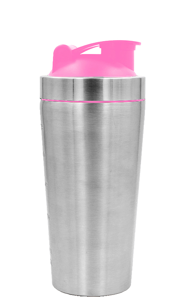 Shaker Bottle Pink Lid