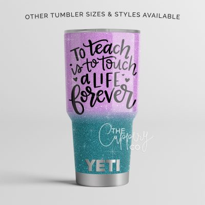 To Teach Glitter YETI Ozark